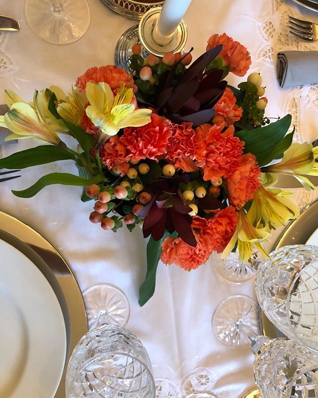 @thepetalerhtx check out my centerpieces this year...I learned it all from you!
