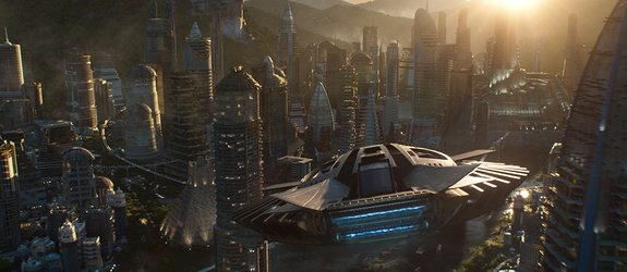 Image of Wakanda, credit Marvel Studios