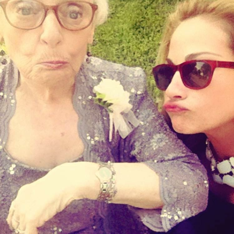 Biz Carlton and Aunt Lisa