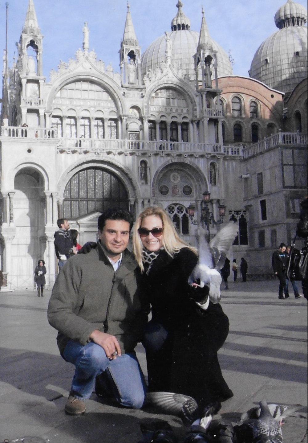 Elizabeth Biz Carlton in Venice