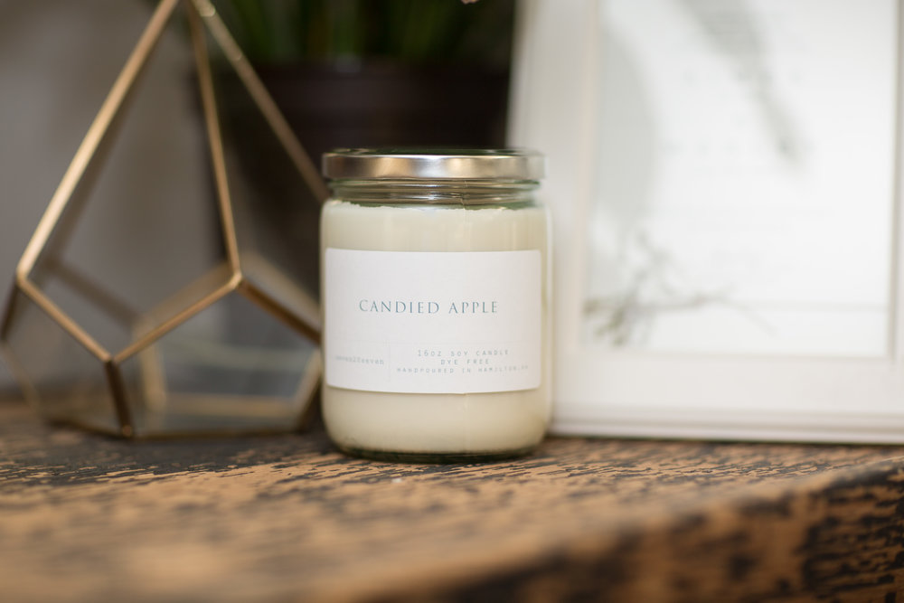 Seven20Seven candles have only three ingredients: wax, oil, and a wick. Our dye-free, soy wax candle is everything a candle should be and nothing it shouldn't.