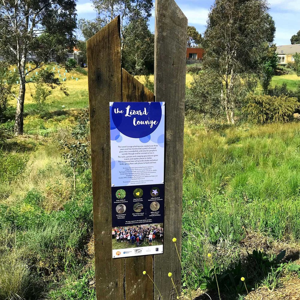Kororoit creek signs