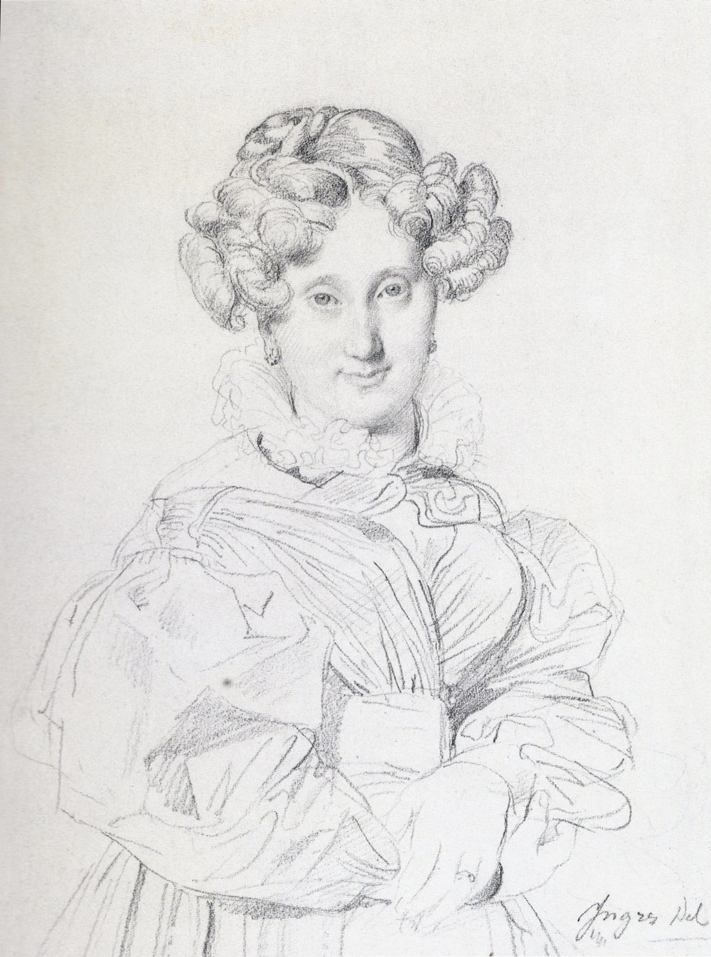 Portrait of Madame Louis-Francois Godinot, 1829