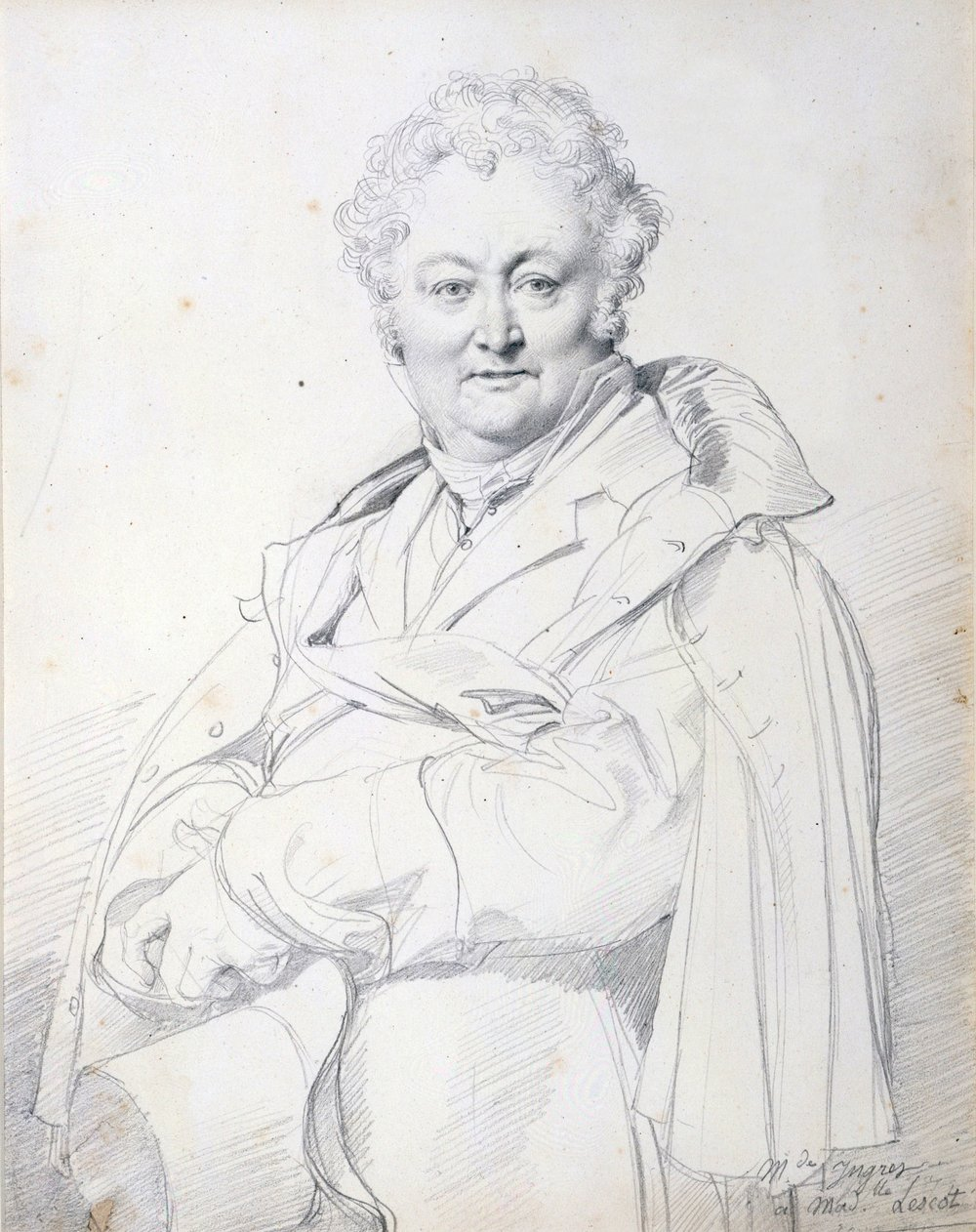 Portrait of Guillaume Guillon Lethière, 1815