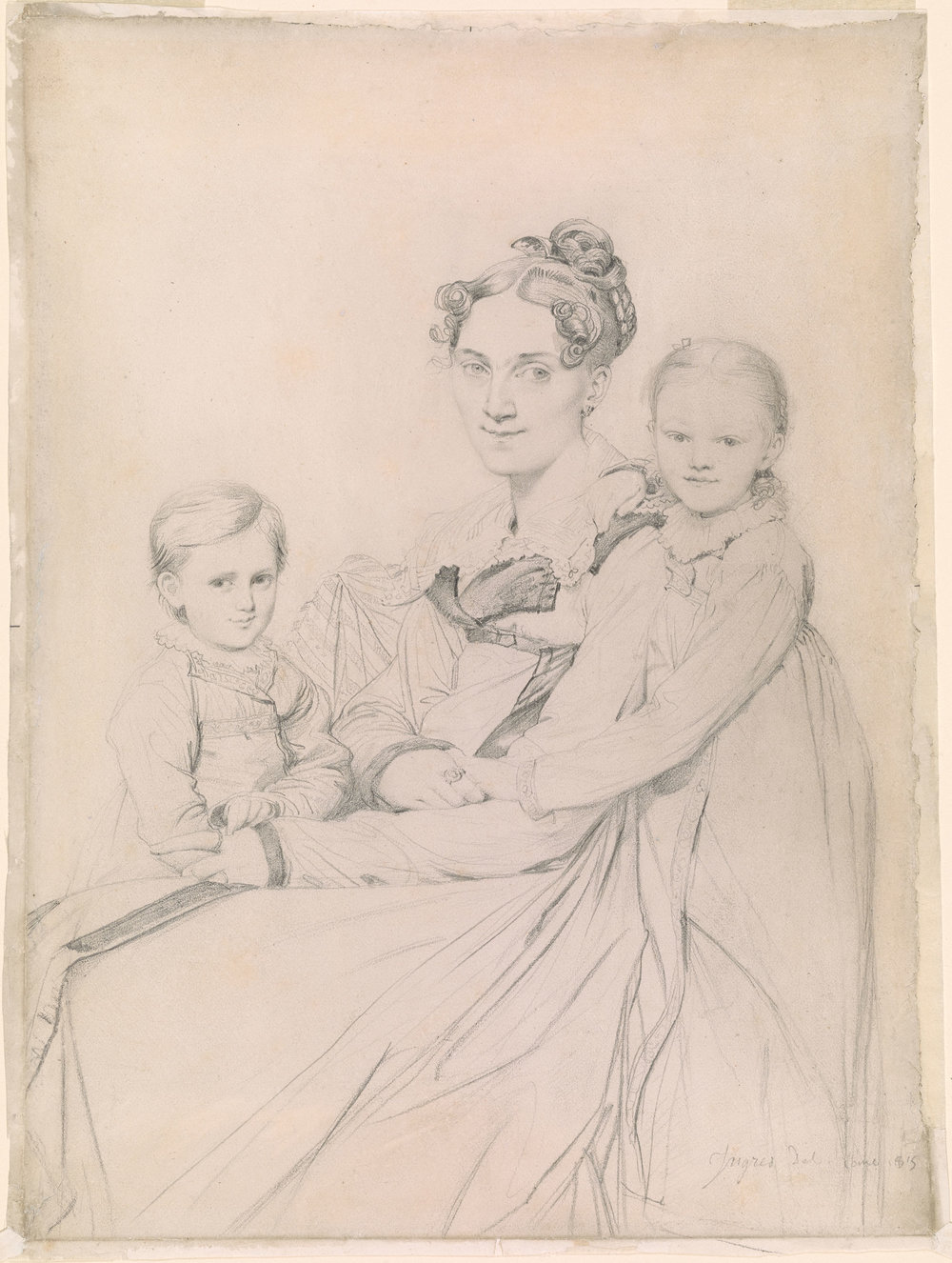 Frau Reinhold and her Daughters, 1815