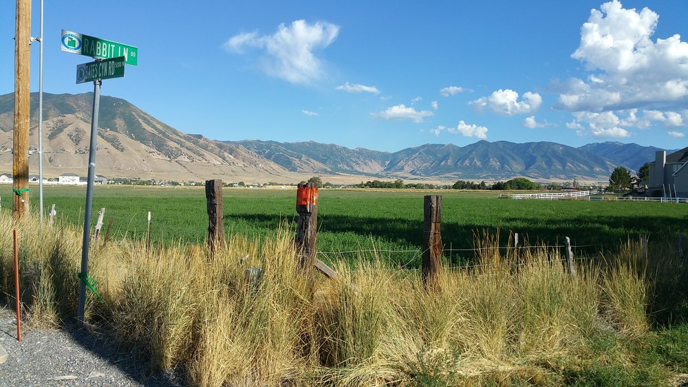 Looking west across Tooele Valley
