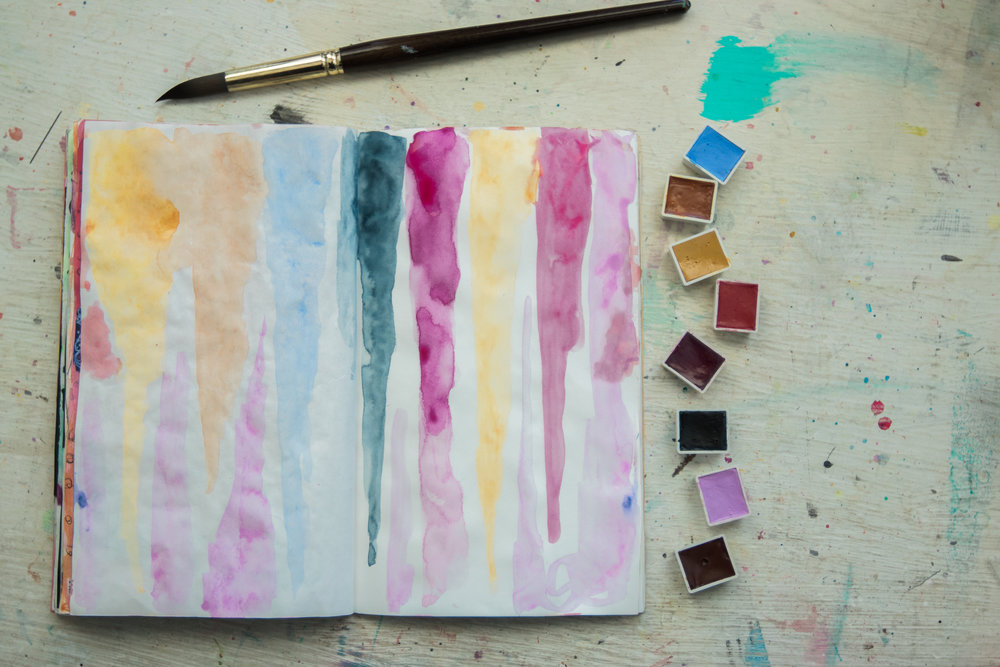 Learn how Ali lets loose with her watercolor in  Journal With Me Bundle: Pack 1 .