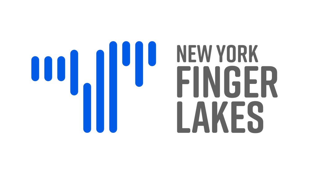 The New York Finger Lakes region tourism logo from creative marketing agency Insomniac Studios, copyright 2017.