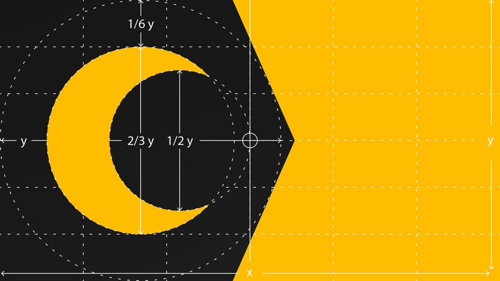 Insomniac Studios 2018 ADDY Award flag design geometry.