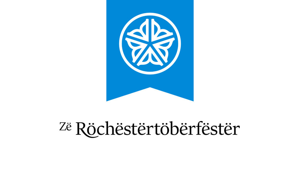 An alternative Oktoberfest logo from Rochester, New York, creative marketing agency Insomniac Studios.