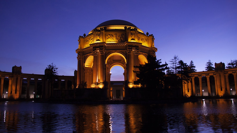 The original Palace of Fine Arts photo.