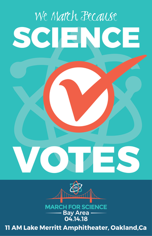 posters march for science san francisco