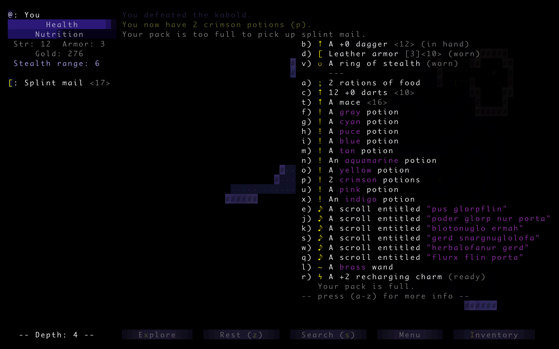 Brogue-inventory