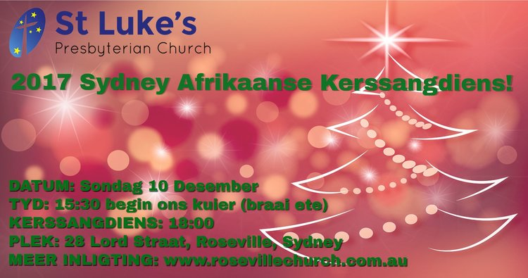 Afrikaans christmas carols service st lukes presbyterian church join us for our annual afrikaans kerssangdiens m4hsunfo