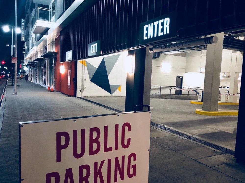 wakaba la parking -