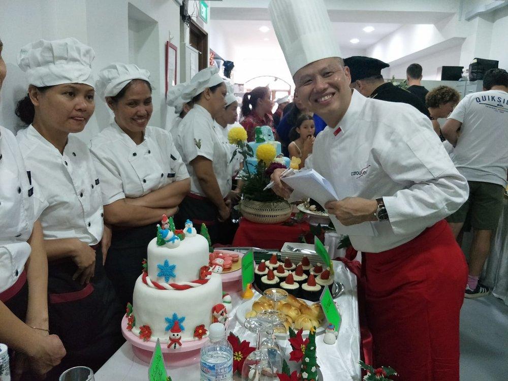 HOME Academy baking class