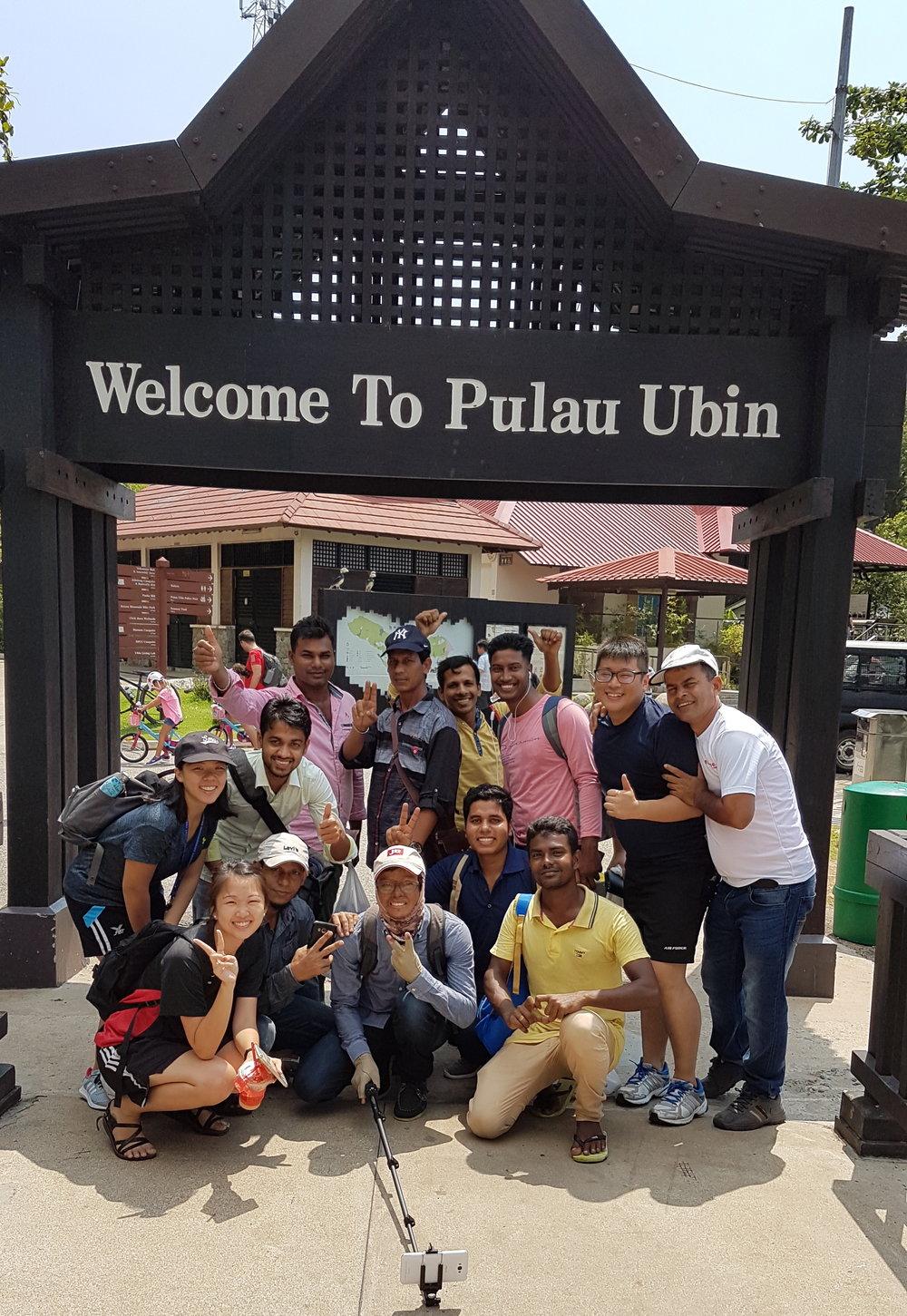 Fun day out at Pulau Ubin