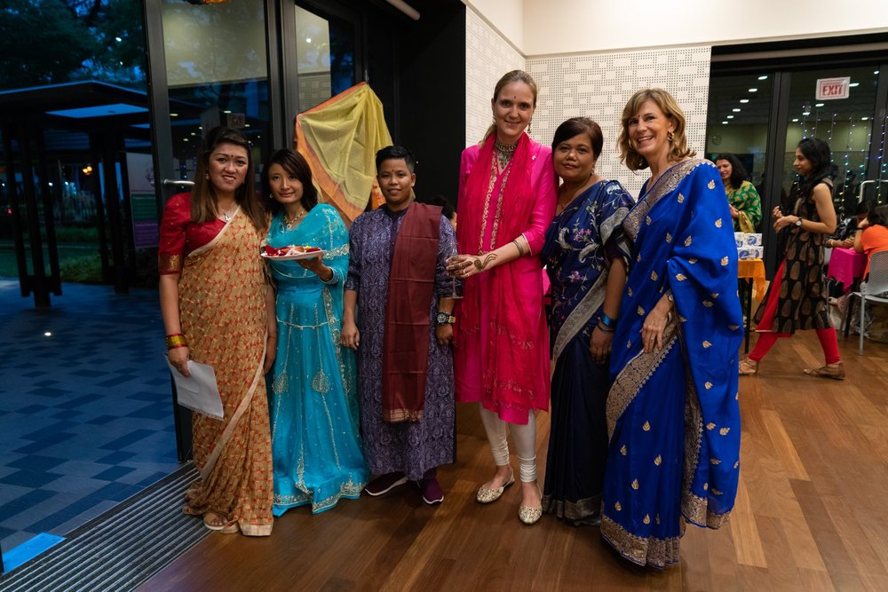 Our first (and hopefully not the last!) Diwali fundraiser