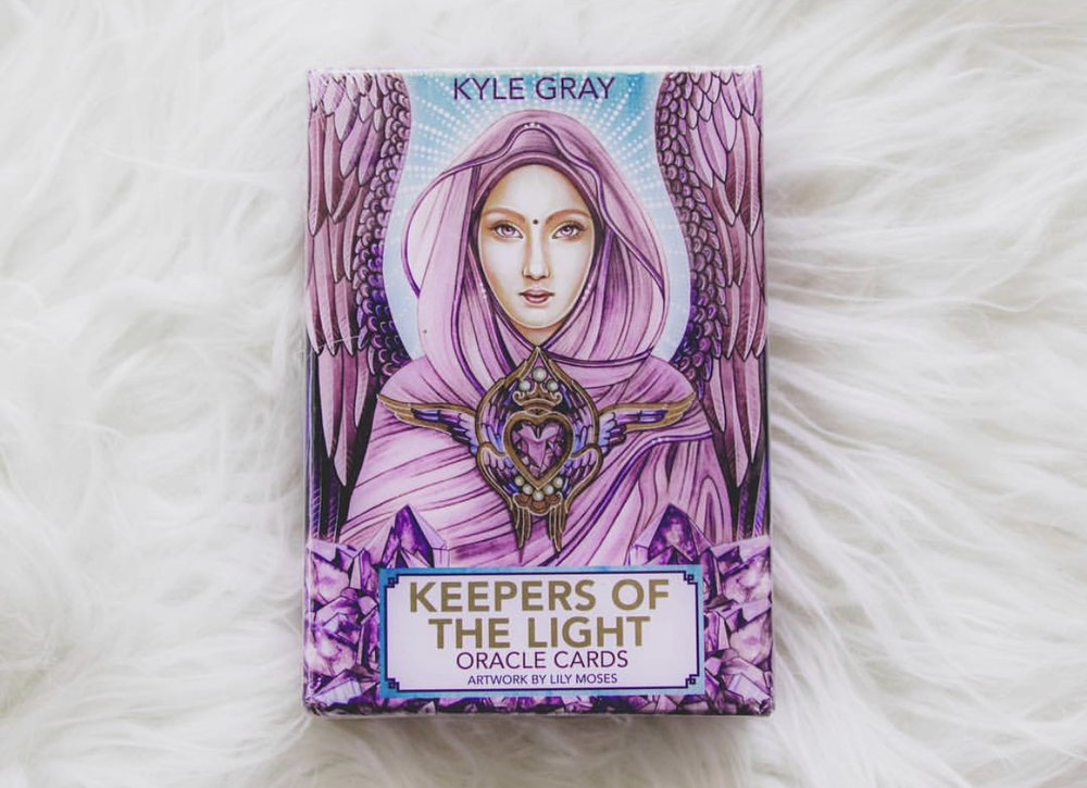 2. Keepers of the Light - by Kyle GrayThis is a perfect card deck for those that are just starting out exploring cards as a tool. It is another deck from Kyle Gray. It is very uplifting, and I love that it features messages from Ascended Masters and Archangels. In addition to being beautiful, it is very educational. Any time I use this deck I feel directly connected with the masters.