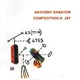 <b>Anthony Braxton<br></b><i>Composition n. 2</i>