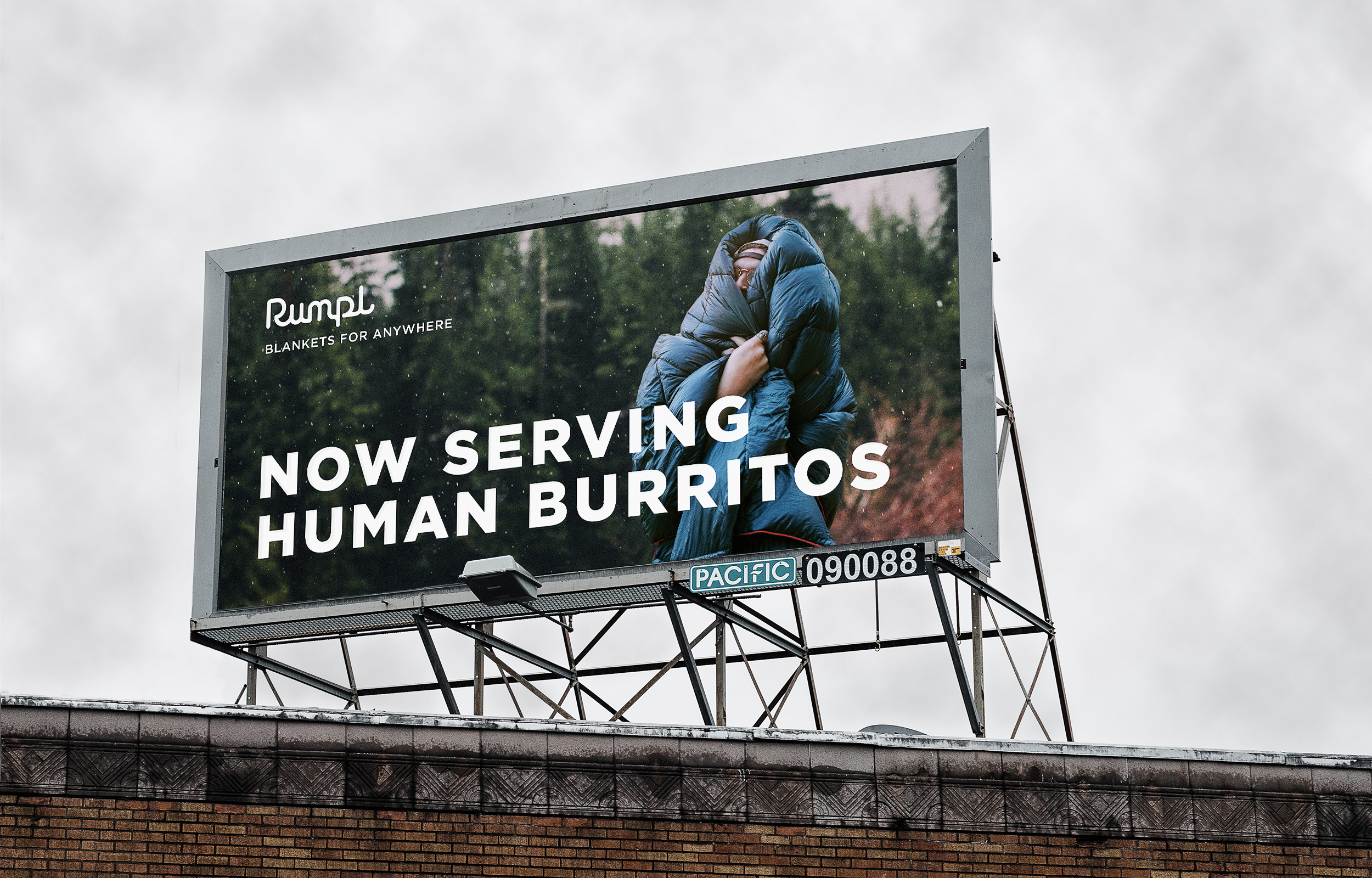 Rumpl Human Burritos Billboard