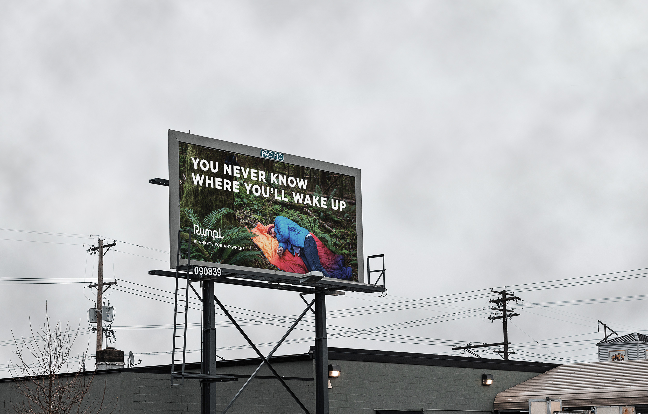 Rumpl Wake Up Billboard