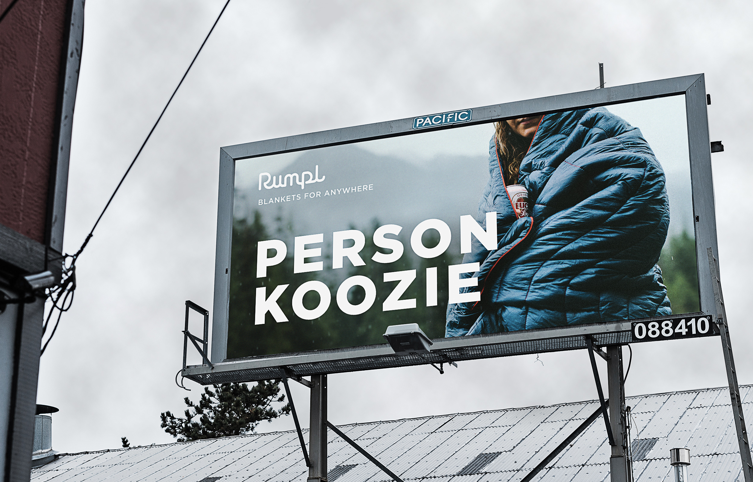 Rumpl Person Koozie Billboard