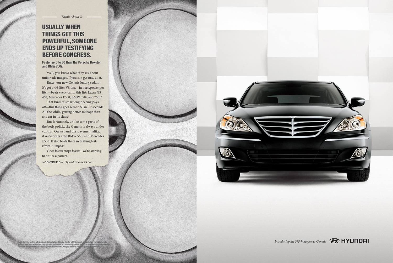 Hyundai Power Ad