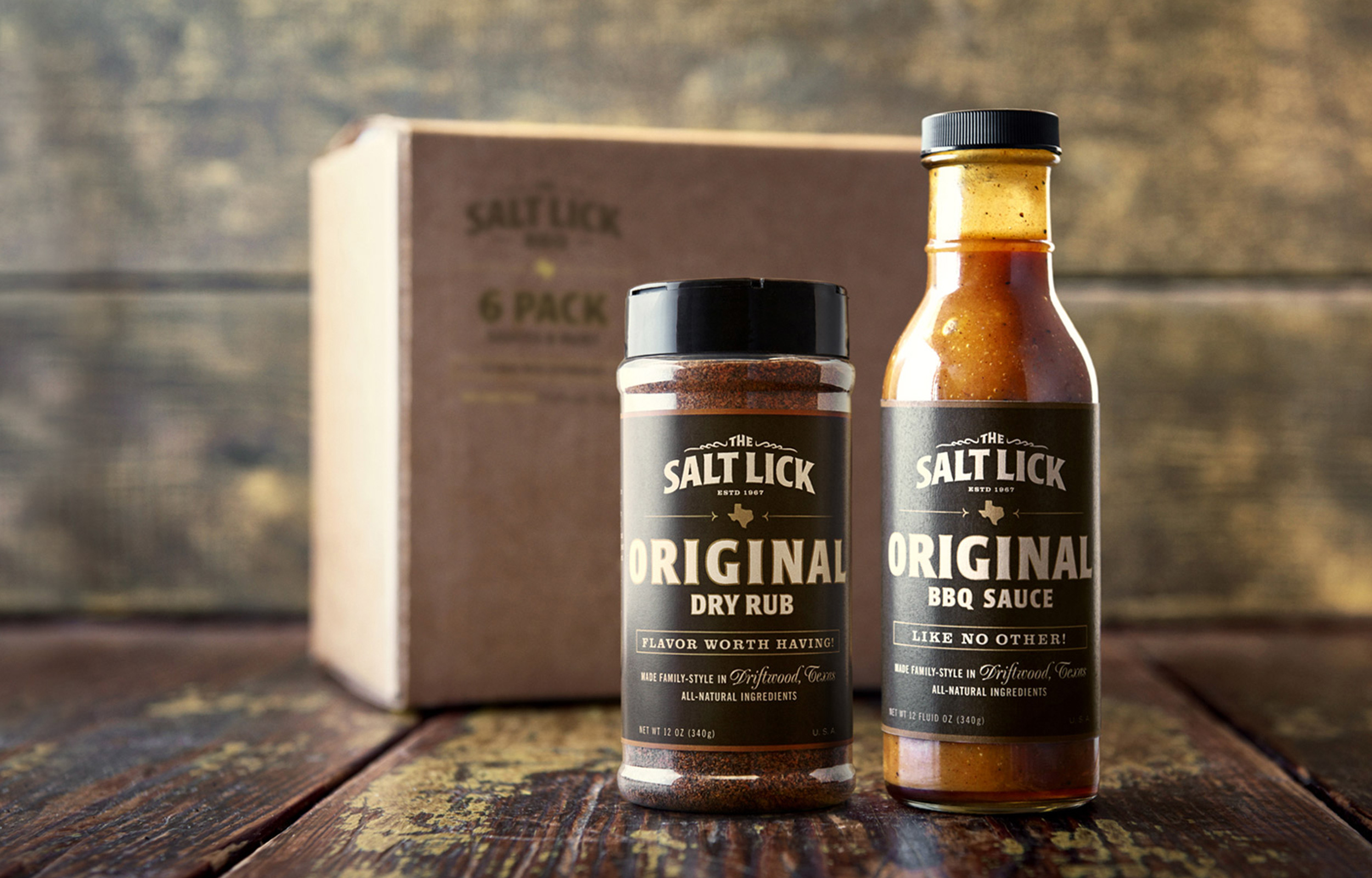 Salt Lick Six Pack Sauce