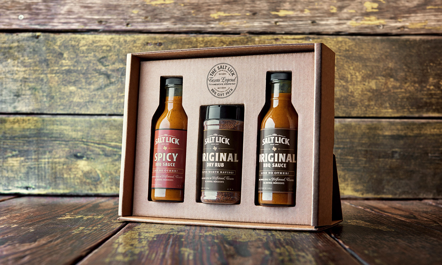 Salt Lick Gift Pack Open