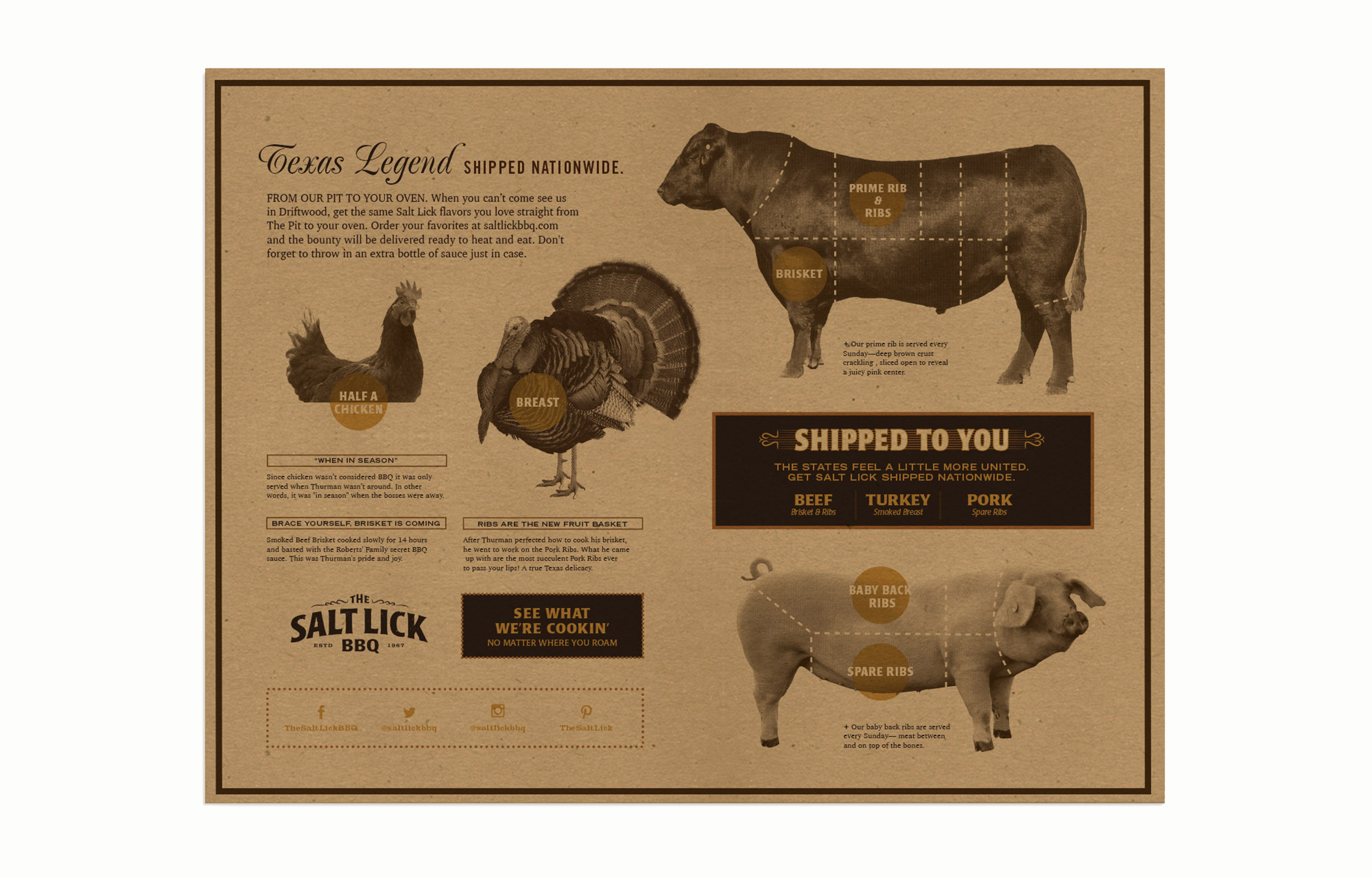 Salt Lick Menu Back