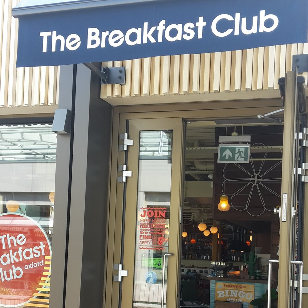 The Breakfast Club - Our highest sign-up so far...The Breakfast Club is located on the Westgate roof terrace with incredible views of Oxford. Refill here and check it out.303 The Westgate, OX1 1PGwww.thebreakfastclubcafes.com/locations/oxford