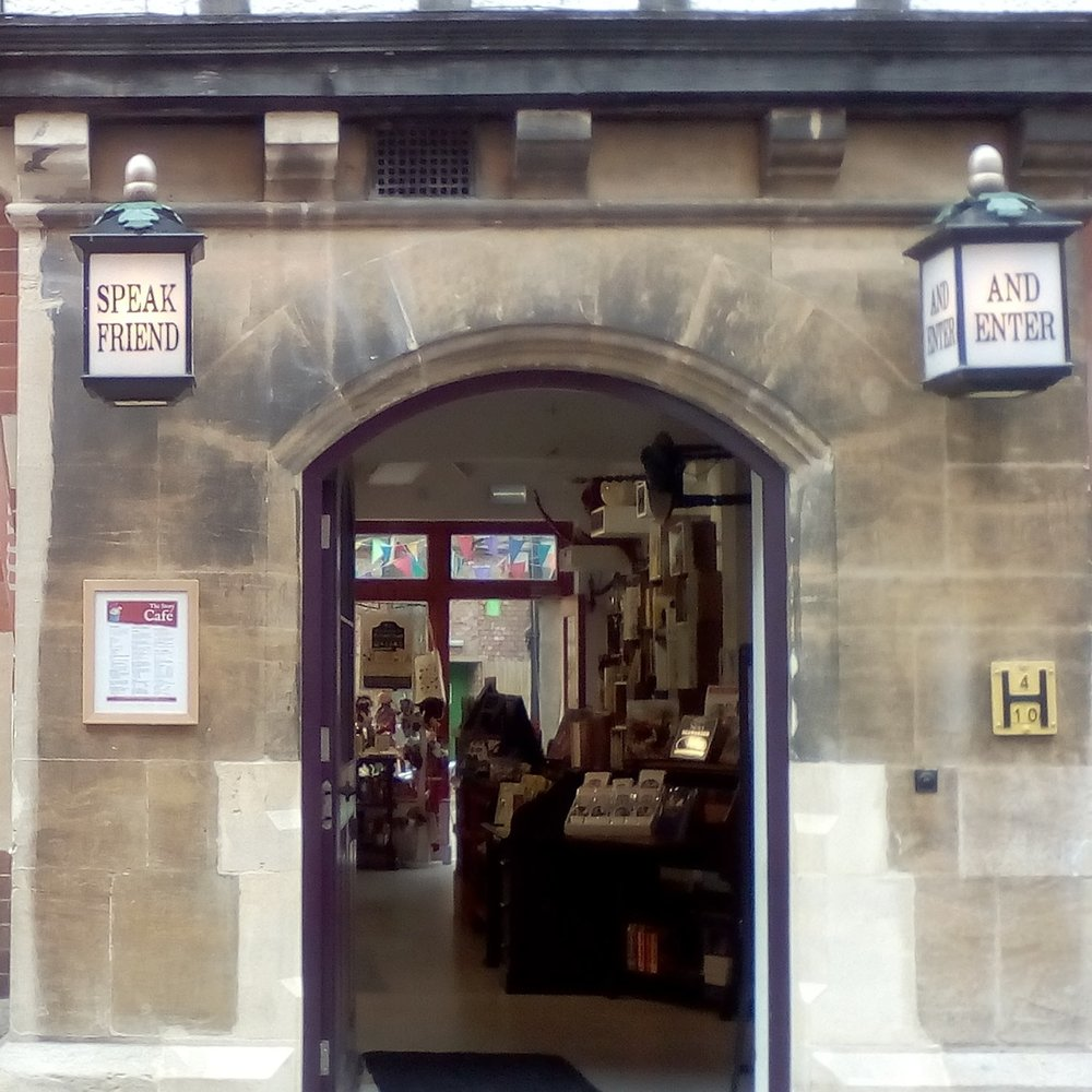 The Story Cafe - Part of the Story Museum, a fun refill stop for children and adults alike! It has a nice courtyard too, away from the hustle and bustle of St Aldates.42 Pembroke Street, Oxford OX1 1BPwww.storymuseum.org.uk