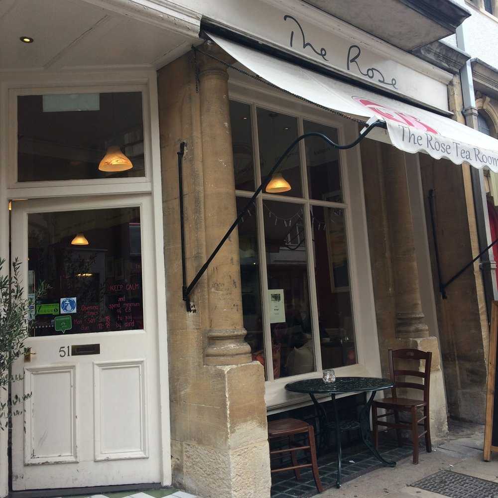 The Rose - Historic Oxford tea room on the High Street.51 Hight Street,OX1 4ASthe-rose.biz