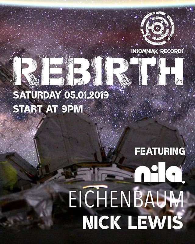 We are starting #2019 with the best #progressive on #waihekeisland with a #rebirth UK guests edition this Saturday to not miss out from 9pm! SET TIMES 21.00-23.00 | @nicklewisdj 23.00-00.15 | @eichenbaumofficial  00.15-02.00 | @dj.nila #progressivehouse #newyear #waiheke #nz #aotearoa