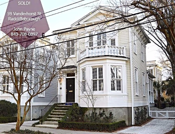 John recently represented the buyers in the sale of 59 Vanderhorst Street.