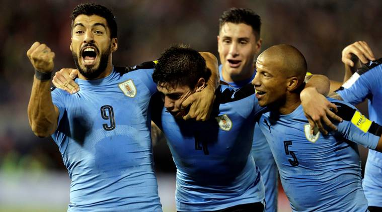 Uruguay are clear favorites but who will finish second in Group A? (Reuters)