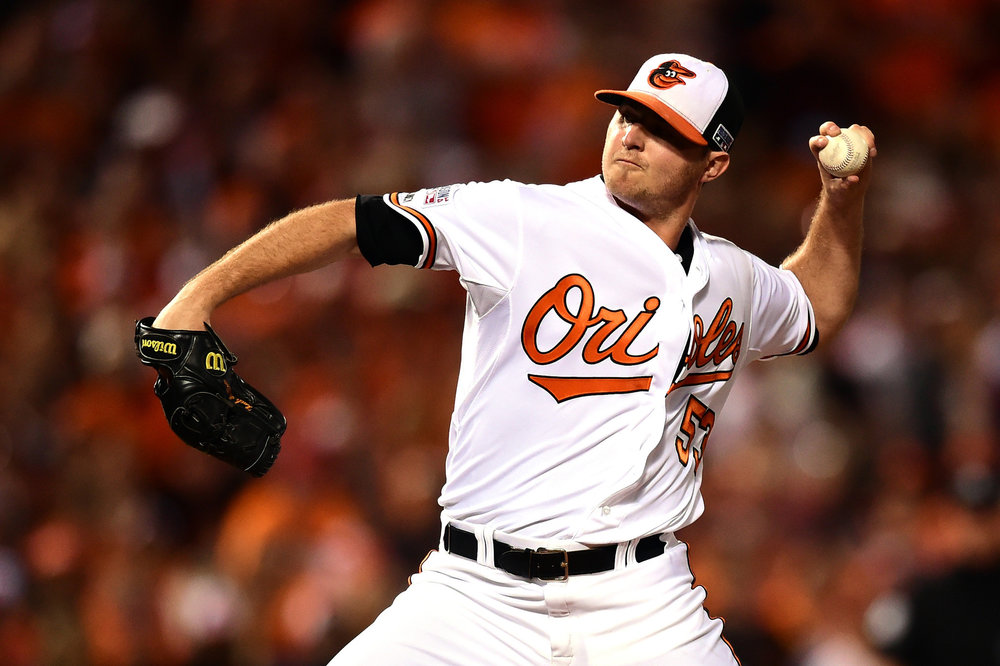 Zach Britton Source:   Kenneth K. Lam, Baltimore Sun