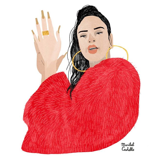 Tra Trá! ++++++++ #rosalia #rosaliabarcelona #illustration #portrait #portraitillustration #editorialillustration #art #artistsoninstagram #artist #artwork #artoftheday #creativityfound #illustrator #illustrationdaily #illustrationgram #makersgonnamake #womenwhodraw #singer #music #showyourwork #showyourart #malamente #illustrationart #doitfortheprocess #digitalart #drawingfaces #ilustracion #mycreativebiz #artist_4_shoutout #createeveryday