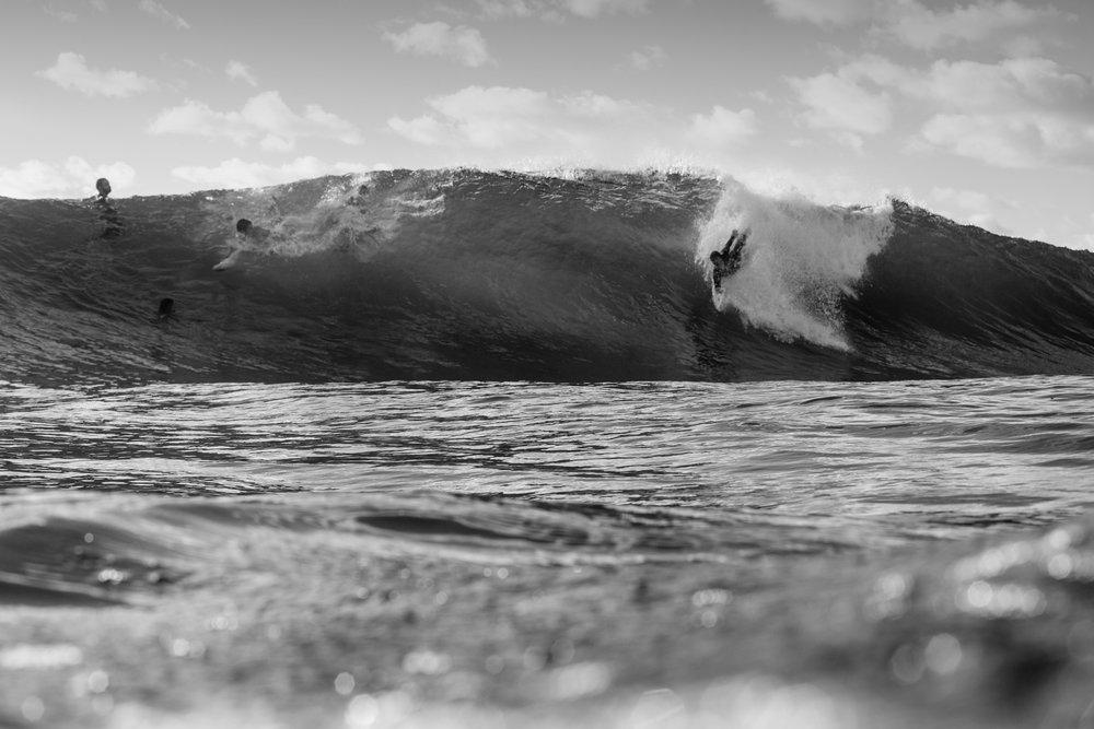 The Art of Bodysurfing Photo: Keeland Tracy