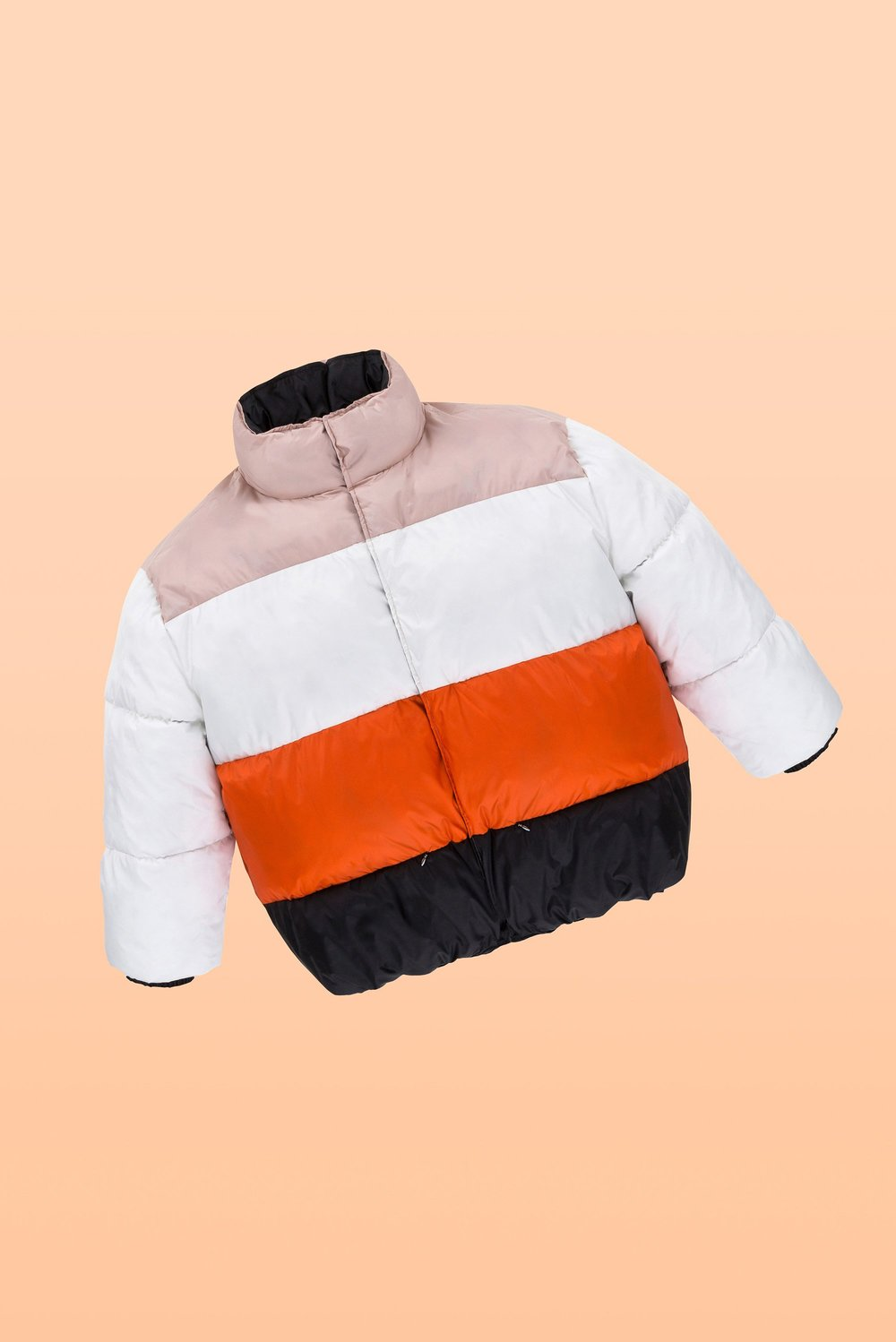 Colour Block Puffer by Biannual, $385.00 USD