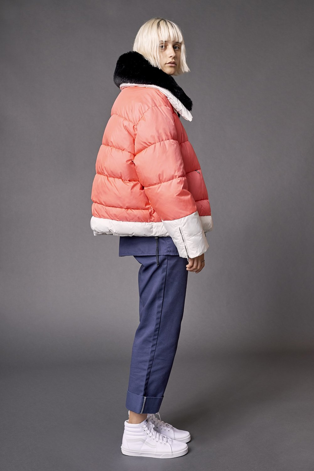 Ladies' Short Puffer by Biannual, $385.00 USD