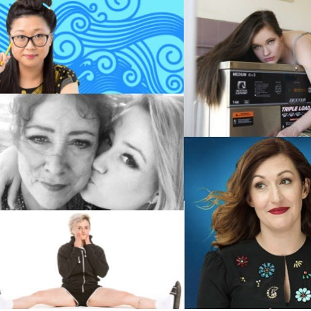 It's @melbcomedyfestival month again! Our picks for top female-led acts this year inc @demilardner , @altove and @rosiewaterland (full list: up on toherdoor.com.au) #comedy #melbourne #grlpwr
