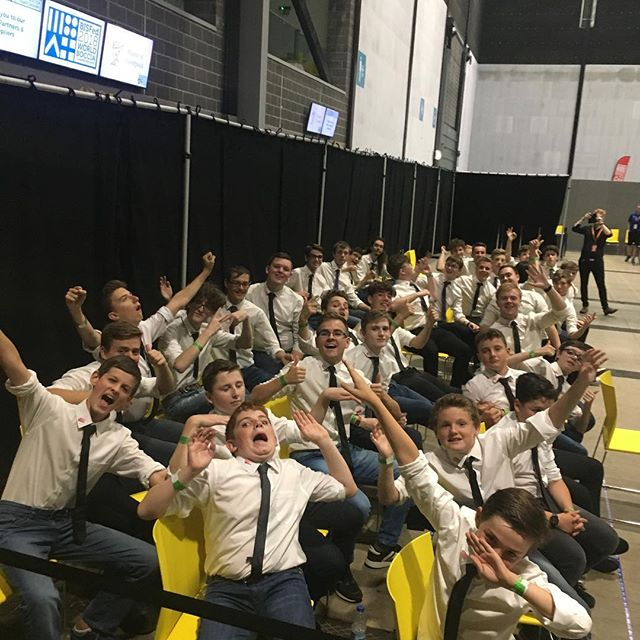 @onlyboysaloud are here with us, ready to perform in our Closing Ceremony. We are in for a treat! #2018WorldBoccia