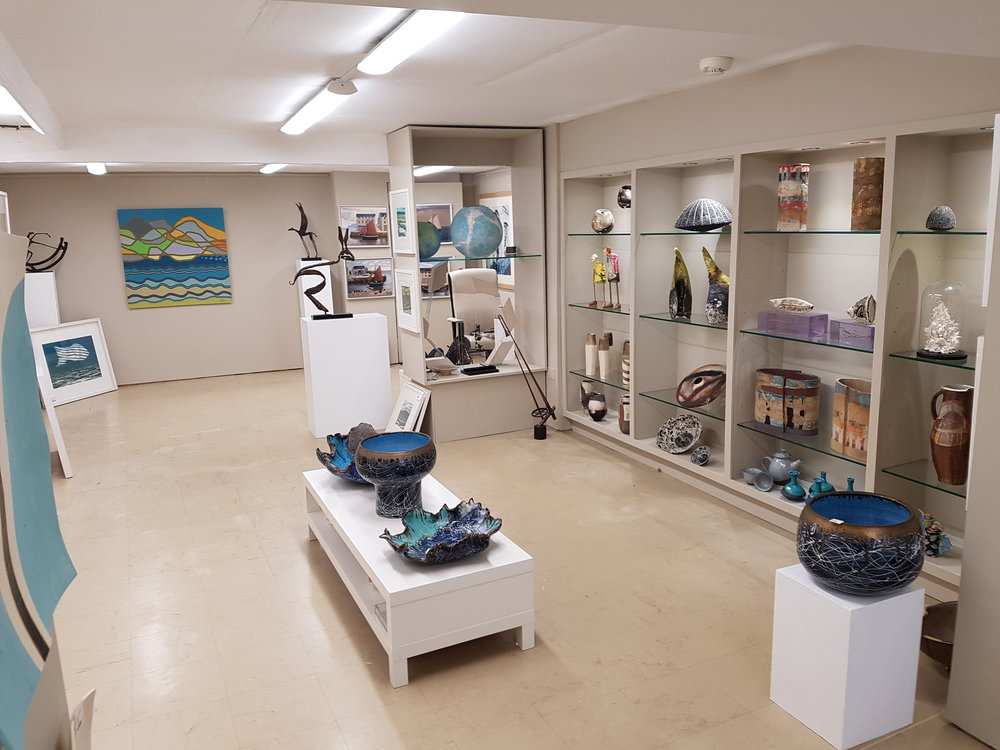 Interior of our Kenmare Gallery