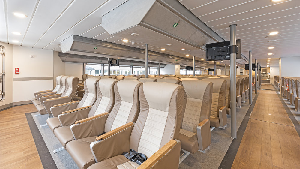 Picture: Ecomony class saloon on main deck