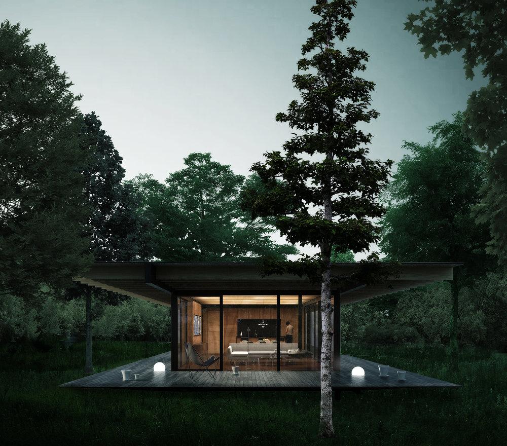 Summer cottage -