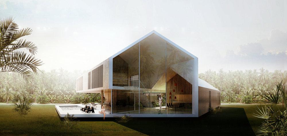 Triangular House -