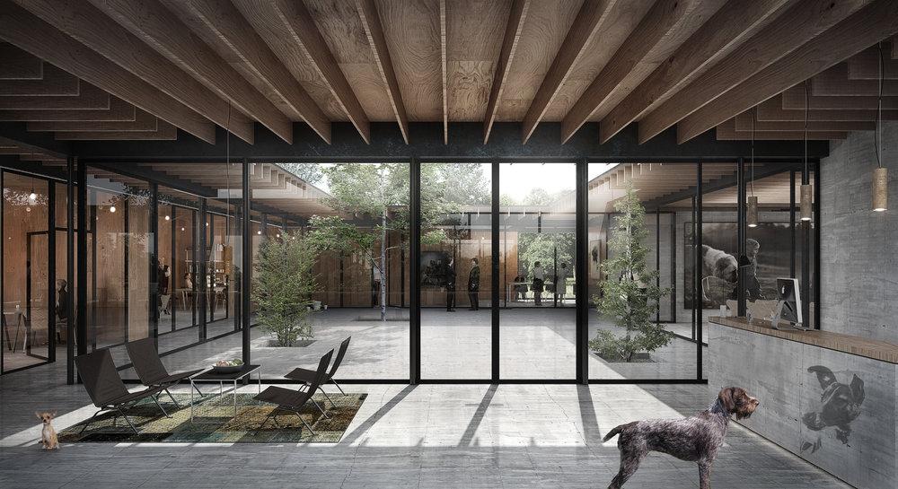 Dog shelter -