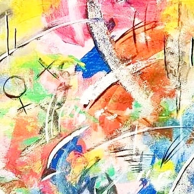 Detalj🎨😊 #art #abstractart #abstractartforsale #abstractpainting #abstractexpressionism #abstractmag #instaartoftheday #abstractartwork #acrylicartwork #colorstudy #flaming_abstracts #artinfo #abstractobsession #artoftheday #modernart #stayabstract #artistlife #newart #kunst #nordicart #artgallery #abstractpainting #emergingartist #abstractaddict #acrylicart #originalartwork #paintingoftheday #nyart